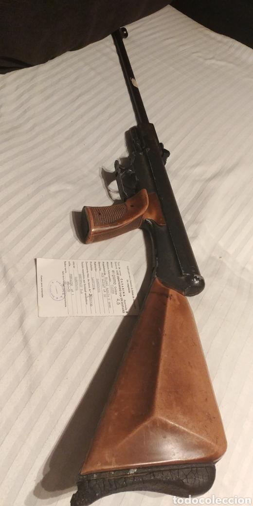 CARABINA AIRE COMPRIMIDO EL GAMO CON CERTIFICADO 1970 MODELO DIFICIL (Militar - Réplicas de Armas de Fuego y CO2 )