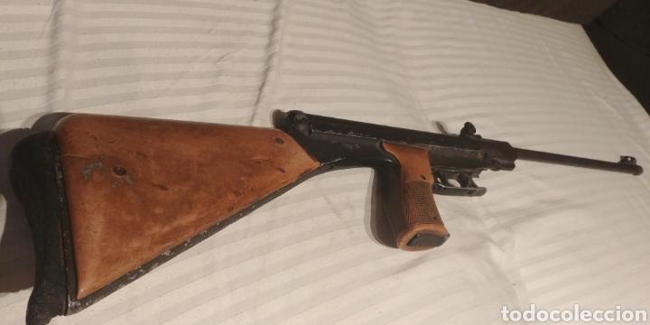 Militaria: CARABINA AIRE COMPRIMIDO EL GAMO CON CERTIFICADO 1970 MODELO DIFICIL - Foto 5 - 129380736