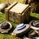 Militaria: LOTE MINAS TERRESTRES CONTRACARRO. EXPAL. Lote 130515494