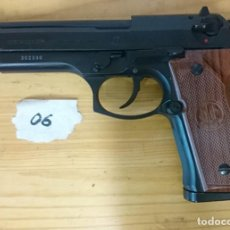 Militaria: PISTOLA BERETTA AIR-SOFT, BLOWBACK. Lote 131872814