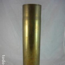 Militaria: VAINA 75 DEC - CAÑON DE CAMPO M1897 - FRANCIA 1917 - FABRICADA EN USA - WWI - RARA. Lote 132023290