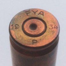 Militaria: CARTUCHO DE 7.65 X 54 . FYA 1934 P GUERRA CIVIL ESPAÑOLA . INERTE 7,65 MM. Lote 132780490