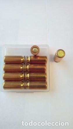 Militaria: Cartuchos del calibre 8 mm cargados con gas pimienta - Foto 3 - 219958548
