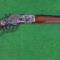 Militaria: RIFLE UBERTI WINCHESTER MODELO 1873 SHORT RIFLE LUXUS CAL. 45. Lote 133027562