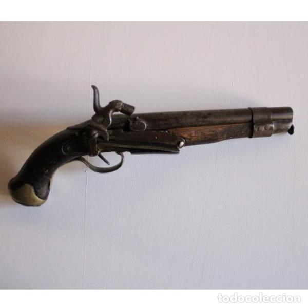 Militaria: Antigua pistola de avancarga - Foto 2 - 135446706