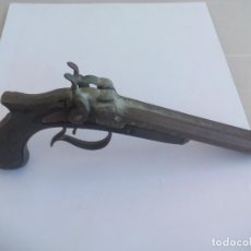 Militaria: ANTIGUA PISTOLA REPLICA DE JUGUETE MARCA ELITOYS DE FULMINANTES O PETARDOS MADE IN SPAIN. Lote 135651839