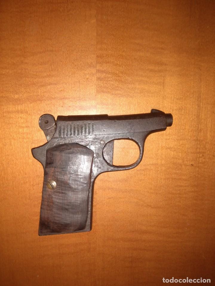 Militaria: Antigua pistola Espantaperros - Foto 3 - 146977749