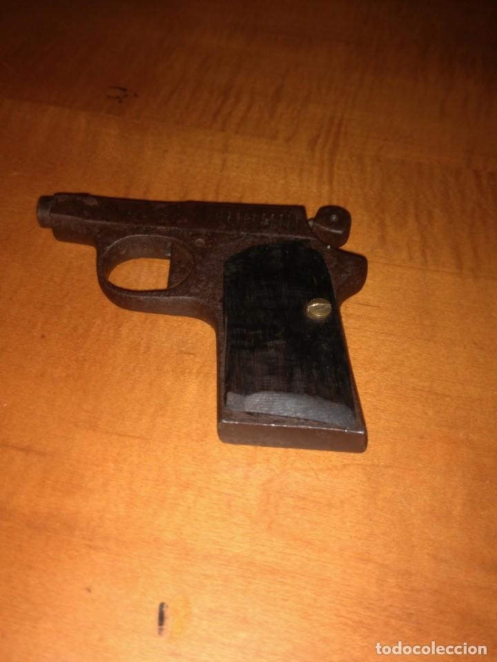 Militaria: Antigua pistola Espantaperros - Foto 4 - 146977749