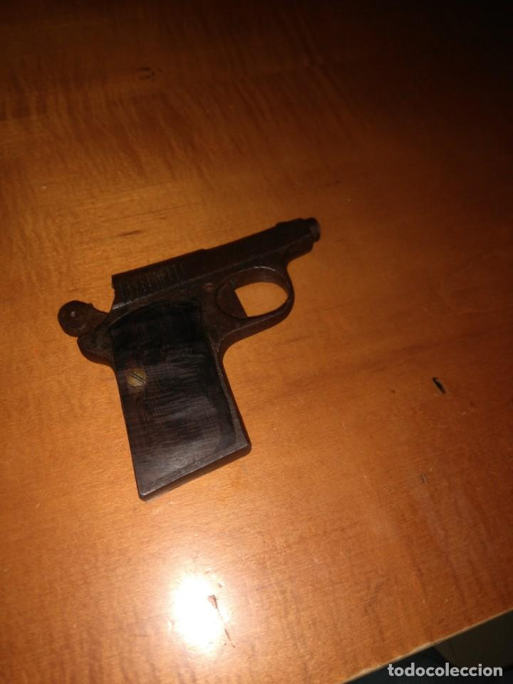 Militaria: Antigua pistola Espantaperros - Foto 5 - 146977749