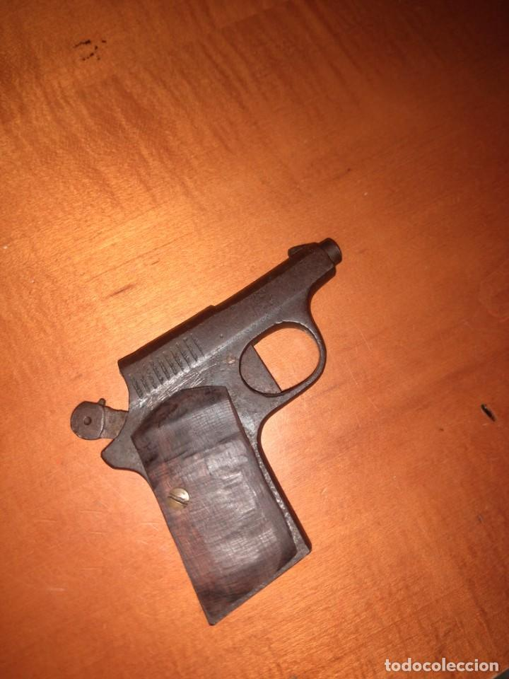 Militaria: Antigua pistola Espantaperros - Foto 6 - 146977749
