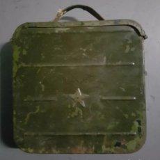 Militaria: CAJA MUNICIÓN. Lote 137901586