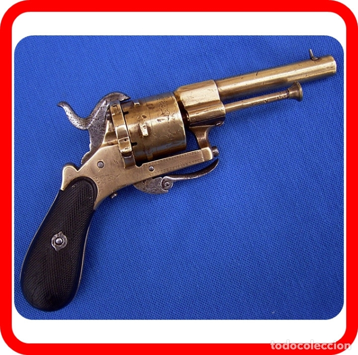 REVOLVER DE BRONCE S.XIX (Militar - Armas de Fuego Inutilizadas)