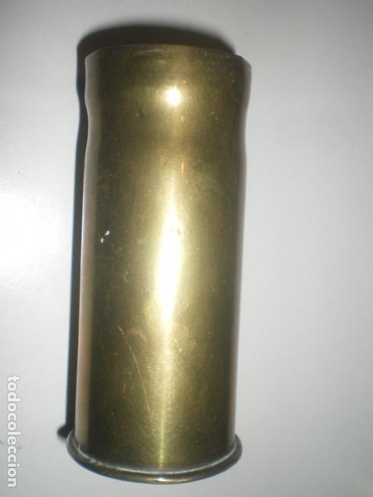 VAINA CARTUCHO GRANADA 37MM, POMPOM, GUERRA CIVIL, INERTE (Militar - Cartuchería y Munición)