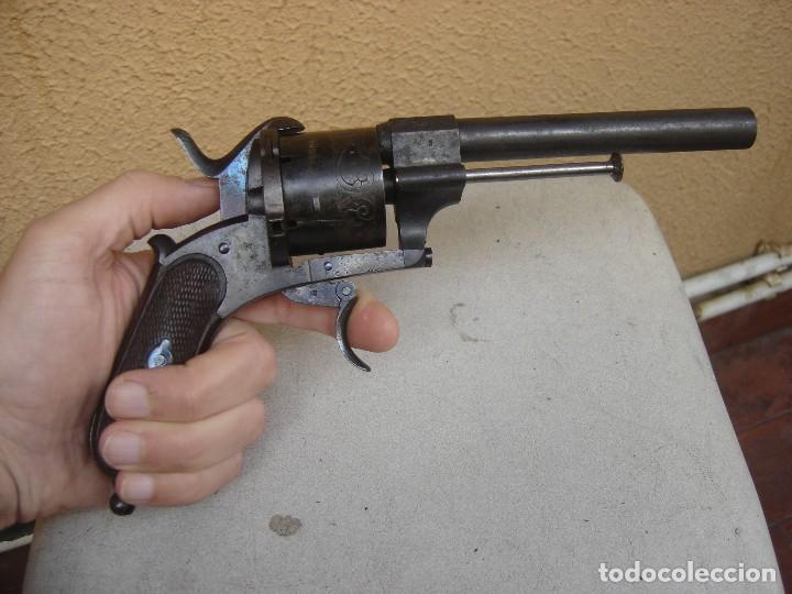 Militaria: REVOLVER ANTIGUO LEFAUCHEUX DE ESPIGA - Foto 14 - 180905653