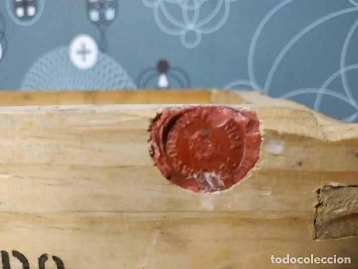 Militaria: Caja de municion de madera FCA. De Toledo 9 largo de 1976 - Foto 5 - 144517022