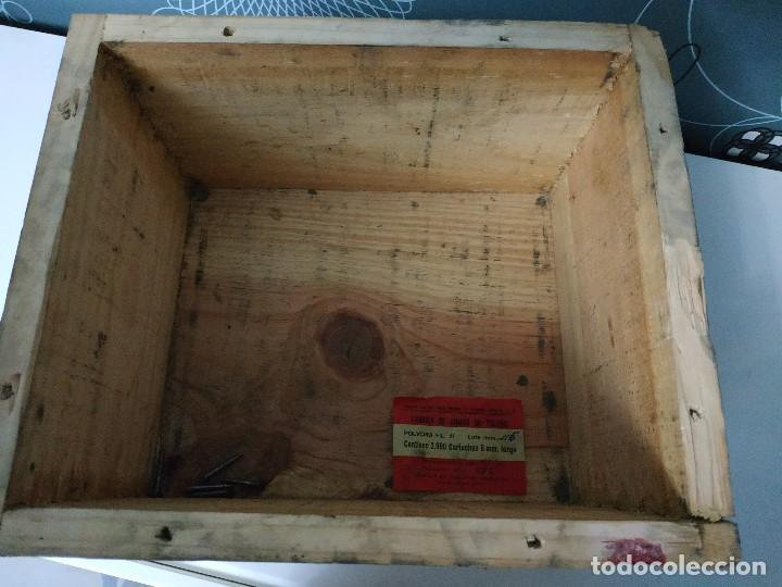 Militaria: Caja de municion de madera FCA. De Toledo 9 largo de 1976 - Foto 7 - 144517022