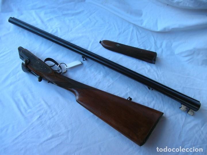 Militaria: .Old shotgun. Alte Schrotflinte . Espingarda . Escopet. Cali.12. AYA nº 12 068 . 1950 s . Papeles . - Foto 2 - 146230658