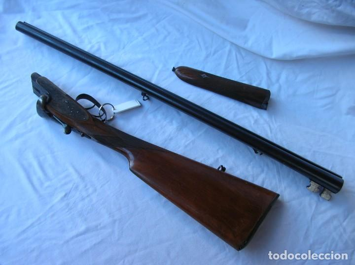 Militaria: .Old shotgun. Alte Schrotflinte . Espingarda . Escopet. Cali.12. AYA nº 12 068 . 1950 s . Papeles . - Foto 3 - 146230658