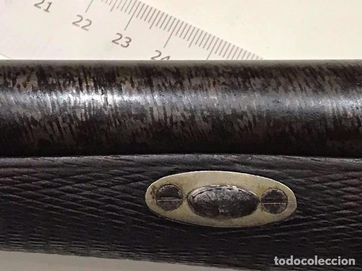 Militaria: Escopeta Bernard sistema lefaucheux certificada para libro de coleccionista - Foto 12 - 146900721