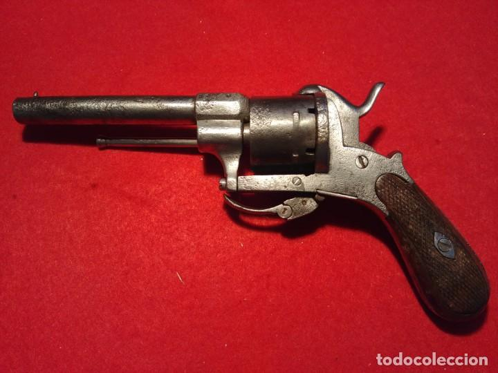 Militaria: Revolver siglo XIX. Todos los mecanismos funcionando. Inutilizada por el paso del tiempo - Foto 2 - 149717346