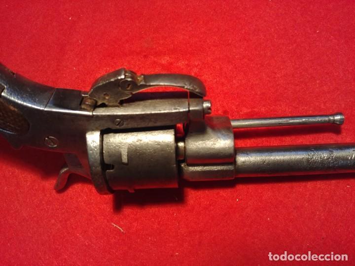 Militaria: Revolver siglo XIX. Todos los mecanismos funcionando. Inutilizada por el paso del tiempo - Foto 8 - 149717346