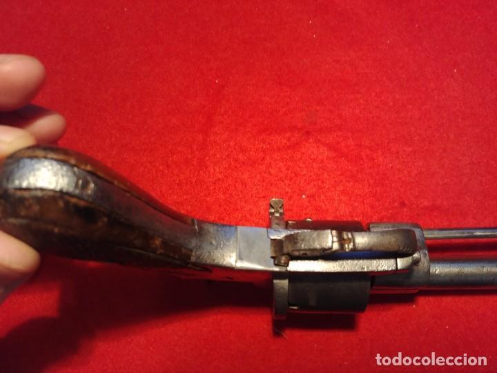 Militaria: Revolver siglo XIX. Todos los mecanismos funcionando. Inutilizada por el paso del tiempo - Foto 10 - 149717346