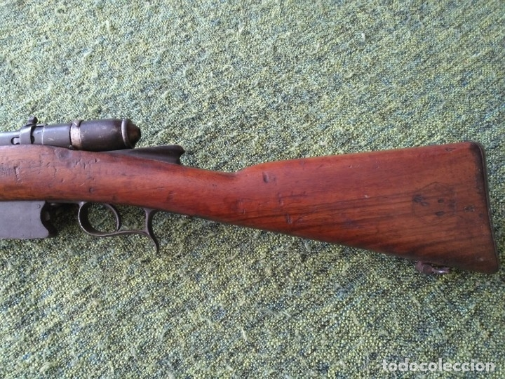 Militaria: Fusil italiano Vetterli vitali M1870/87/16 Brescia - Foto 6 - 150238938