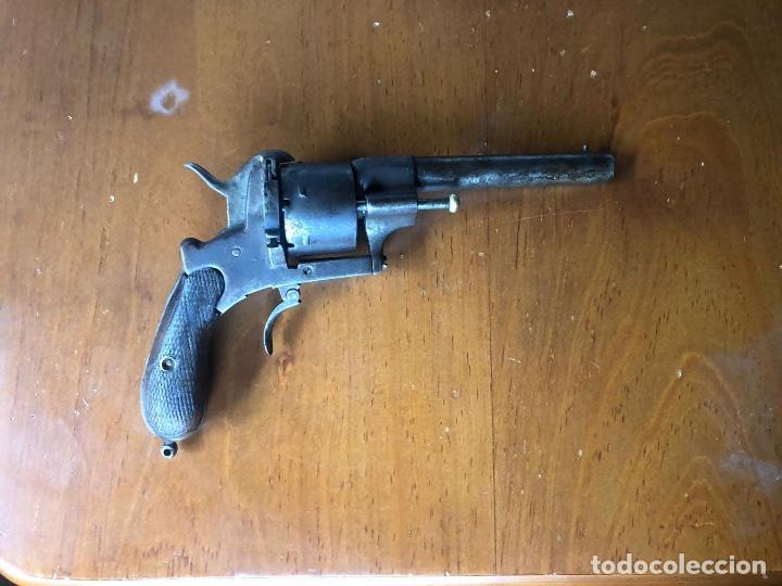 REVÓLVER LEFAUCHEUX CA.1870 (Militar - Armas de Fuego Inutilizadas)