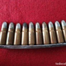 Militaria: PEINE 10 CARTUCHOS INERTES PISTOLA MAUSER. Lote 152185850