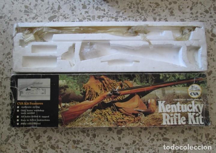 Militaria: Rifle Kentuky Avancarga - Foto 8 - 158011976