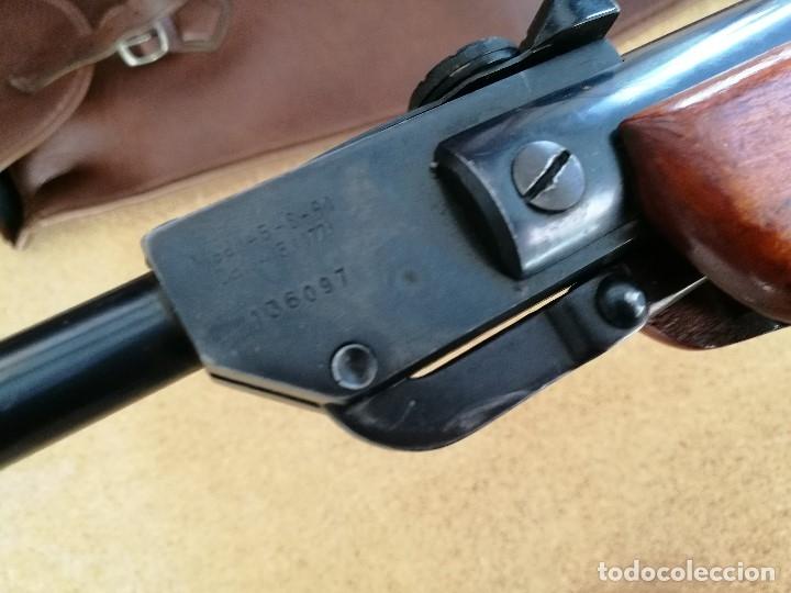 Militaria: Carabina aire comprimido marca GAMO, MODELO 45 -S-61 cal 4.5 mm -----------año 1961--- REF-CV - Foto 31 - 182792476