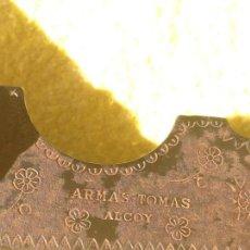 Militaria: LLAVE, GATILLO, GUARDAMONTE. ARMAS TOMAS DE ALCOY.. Lote 155357778