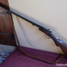 Militaria: ANTIGUA ESCOPETA.S.XIX EIBAR.FABRICA DE VICTOR ARAMBERRI.. Lote 155588742