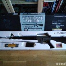 Militaria: M16A1 VIETNAM VERSION DE AIRSOFT MARUI. Lote 156519046
