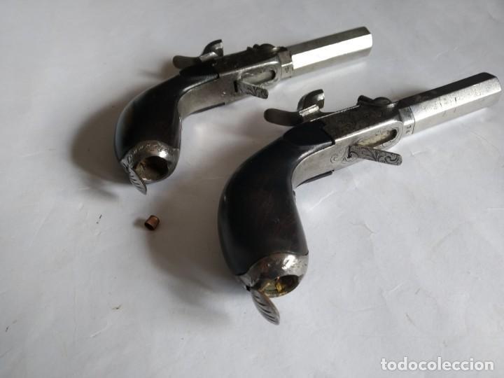 Militaria: Pareja de pistolas de Liége Boxlock de 1840 en caja. - Foto 7 - 159231650