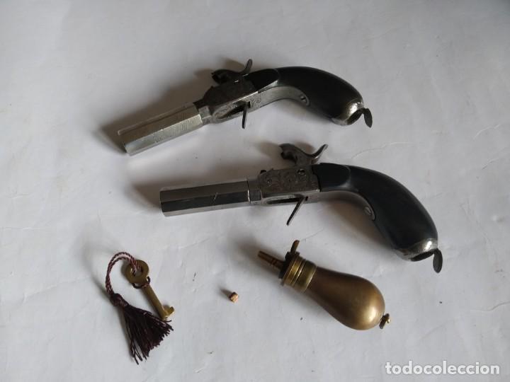 Militaria: Pareja de pistolas de Liége Boxlock de 1840 en caja. - Foto 11 - 159231650