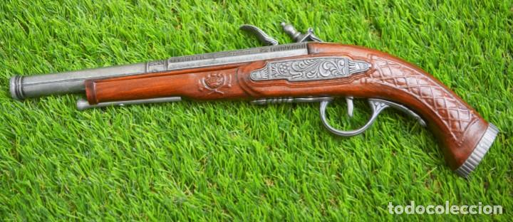 REPLICA PISTOLA AVANCARGA - MOSQUETE DE PEDERNAL - CHISPA FLINTLOCK HADLEY 1760 LONDON (Militar - Réplicas de Armas de Fuego y CO2 )