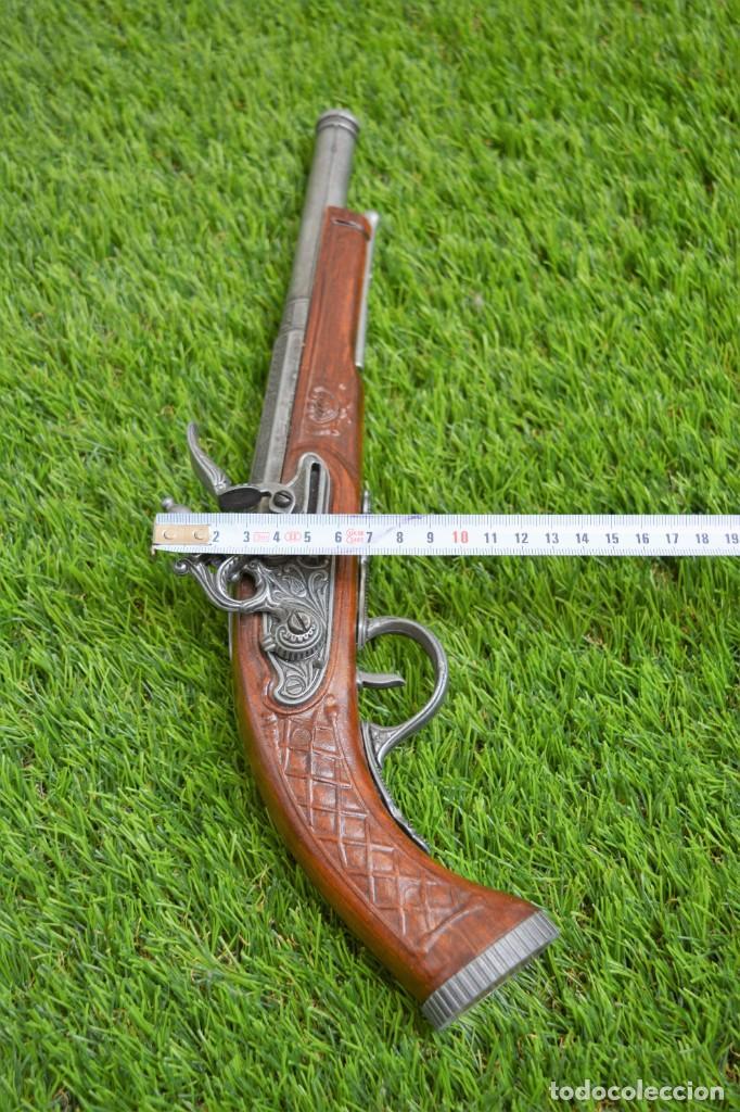 Militaria: Replica Pistola Avancarga - Mosquete De Pedernal - Chispa Flintlock Hadley 1760 London - Foto 2 - 161792602