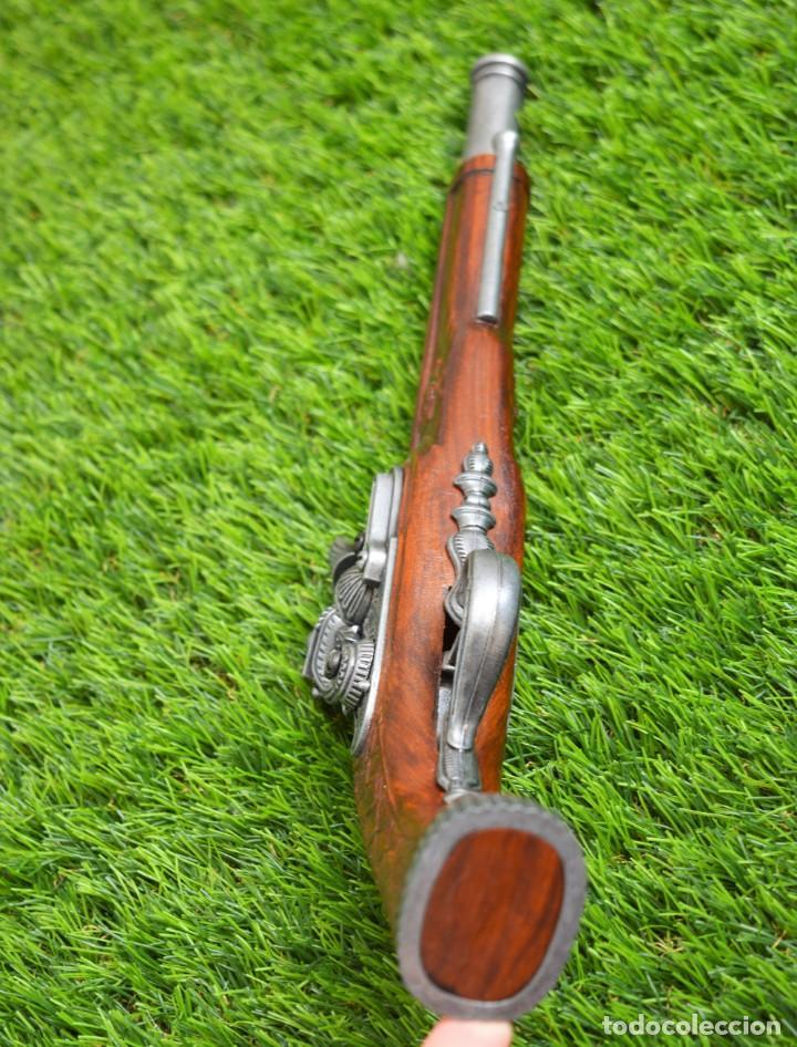 Militaria: Replica Pistola Avancarga - Mosquete De Pedernal - Chispa Flintlock Hadley 1760 London - Foto 6 - 161792602