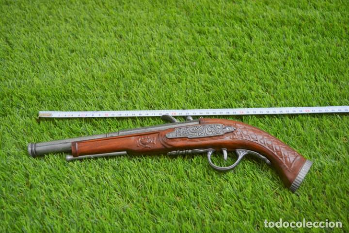 Militaria: Replica Pistola Avancarga - Mosquete De Pedernal - Chispa Flintlock Hadley 1760 London - Foto 9 - 161792602