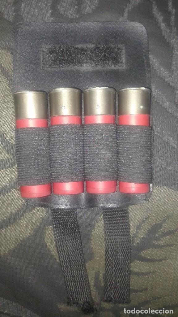 CARTUCHOS Y CARTUCHERA AIRSHOFT 6 MM (Militar - Réplicas de Armas de Fuego y CO2 )