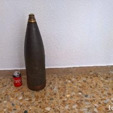 Militaria: PROYECTIL 150 MM GUERRA CIVIL ..NACIONAL..TOTALMENTE INERTE.. Lote 164402166