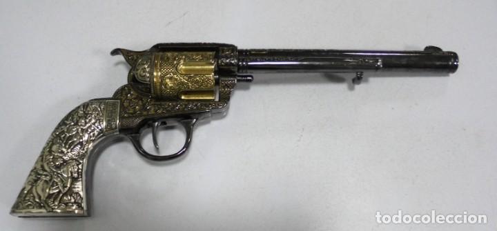 REPRODUCCION. REVOLVER. LITTLE BIG HORN. 25 JUNE 1876. MEDIDA: 34CM. VER FOTOS. BUEN ESTADO (Militar - Réplicas de Armas de Fuego y CO2 )