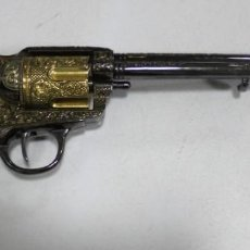 Militaria: REPRODUCCION. REVOLVER. LITTLE BIG HORN. 25 JUNE 1876. MEDIDA: 34CM. VER FOTOS. BUEN ESTADO. Lote 164461150