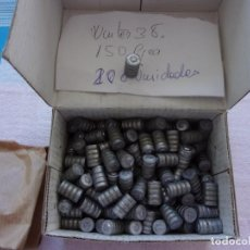 Militaria: PUNTAS PLOMO WCUTER38 150 GR.. Lote 247658285