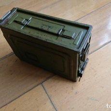 Militaria: CAJA DE MUNICION VACIA M1A1, US ARMY. Lote 167567532
