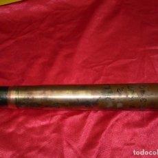 Militaria: DISPARO COMPLETO PACK DE 37MM ALEMÁN IIWW AÑO 1937, VAINA DE ACERO LATONADO, INERTE.. Lote 168381608