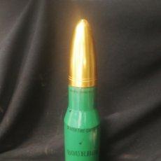 Militaria: BOTELLA DE CRISTAL CON FORMA DE BALA. Lote 169411028