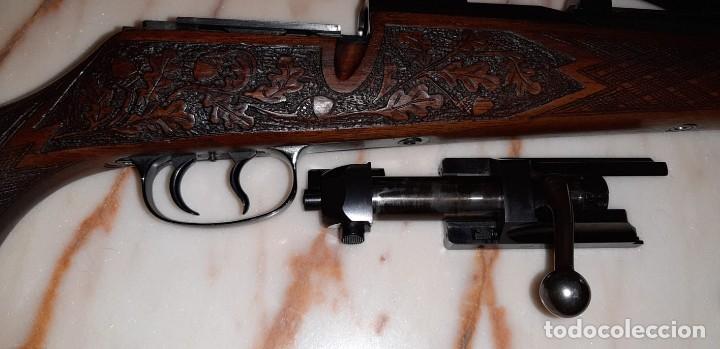 Militaria: Mauser 66 de lujo ,maderas grabadas , calibre 30-06 - Foto 3 - 169566108