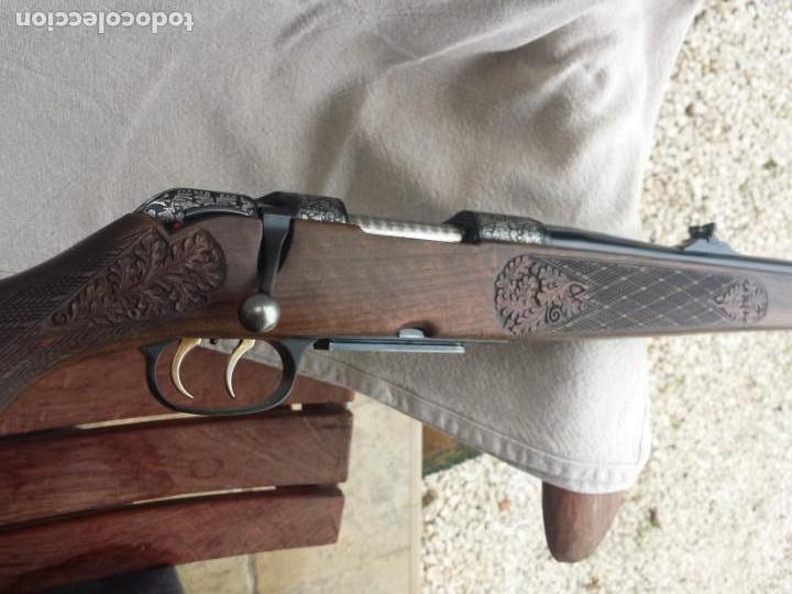 Militaria: Krico de lujo , grabado , calibre 243 win - Foto 7 - 169567292